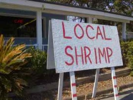 Local Shrimp